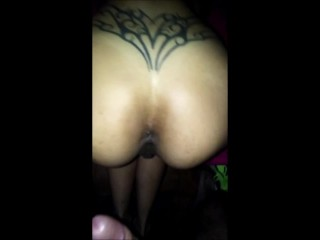 AMATEUR ANAL CREAMPIE WITH A TIGHT LATIN ASS HOLE