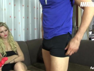 Reife Swinger - Mature Reverse Gangbang With Three Kinky Wives - AmaterEuro