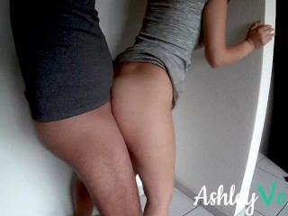 Fuck My Big Boob Step Sister When no one is around - Ashley Ve