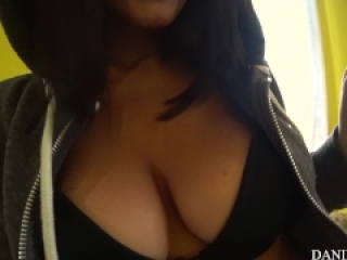 Sweet wake up from afternoon nap! Amateur couple pov bj and swallow