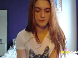 My Online Girlfriend 18 and Perfect Young Camgirl
