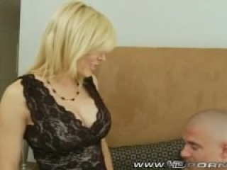 Big Tit Blond MILF Holly Gets Fucked by Big Dick