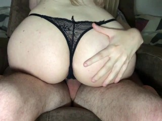 Stepsister made me cum twice while parents aren't home.
