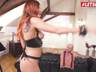 HerLimit - Renata Fox Russian Redhead Rough Anal Banging With A Huge Dick - LETSDOEIT