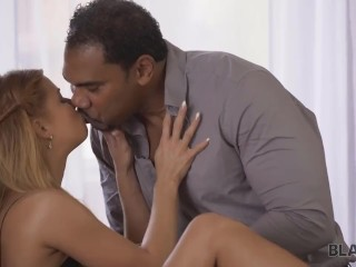 BLACK4K. Chrissy Fox in tight dress waited for black guy to be fucked finally