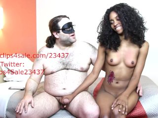 Nude Interview With With Handjob With 19 Year Old Ebony Shadae
