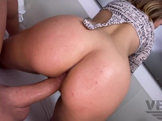 MET A GIRL IN A TINDER AND SHE GAVE ME MAKE CREAMPIE IN HER BIG WHITE ASS (3/4)