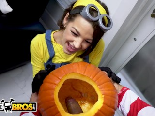 BANGBROS - Trick Or Treat, Smell Evelin Stone's Feet. (I Bet You Would!)
