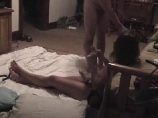 Amateur Mistress fucking a Slave with a Strapon (Homemade Femdom)