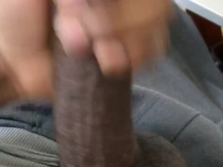 Jacking my bbc before bed
