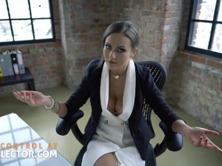 School fantasies with headmaster Tina Kay and her student