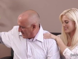 daddy4k. guy cant believe his hot slut had hot sex with his father