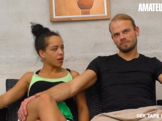 SexTapeGermany - Danny Bubbles Gorgeous German Teen Hardcore Pussy Fuck On Camera With Lover - AMATEUREURO