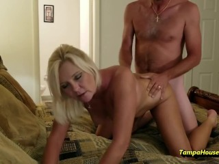 Cunt or Ass, This Slutty Housewife Just Wants FUCKED