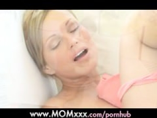 MOM Beautiful mature woman orgasms outdoors