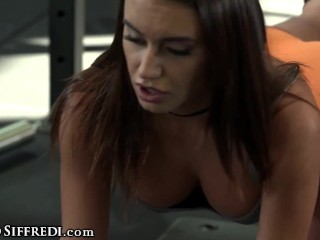 Anal Practice At The Gym