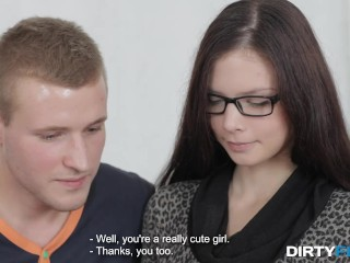 Dirty Flix - Margarita C Peachy - Reading and fucking together