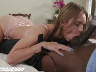 NewSensations - Big Black Cock Step Daddy Pounds White Teens Tiny Tight Pussy