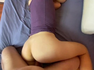 Girl Doesn't Wear Panties When She Wants Sex and My Cum