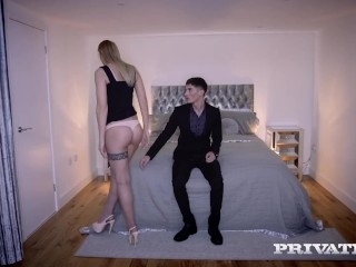 PRIVATE com - Super Hot Blonde Lulu Love Gets Pussy Fucked & Jizzed On!
