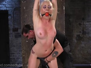 Lorelei Lee Endures Rough Rope Bondage