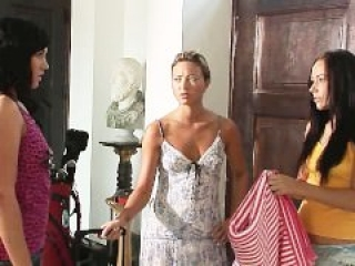 Hot Silk Scene 03 - Sonia Red, Lucy and Natalia Forrest