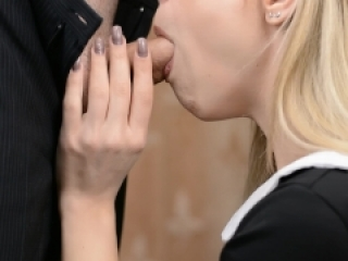 Young Schoolgirl Suck My Cock and Swallow Cum - Miss Charm