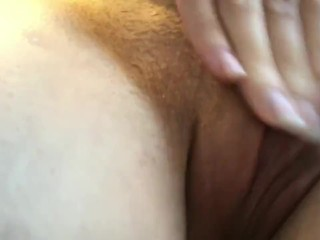 My Horny Morning Routine: Rubbing my wet PUSSY on the sink & on the floor