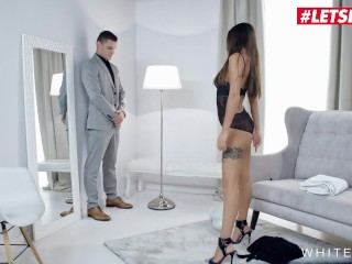 White Boxxx - Busty Babe Liya Silver Can't Wait For Her Boyfriend Anymore