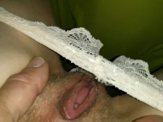 a small fuck on the washmachine finger anal