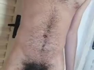 hairy body and huge dick