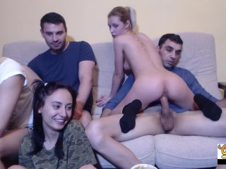 Gift of her Step-Brother's gangbang
