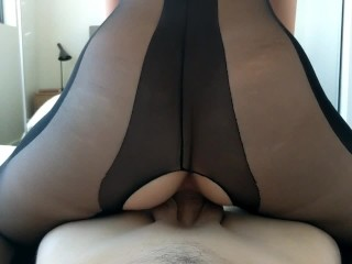 Sister CREAMPIED and rides step Brothers Cock with her Big Ass