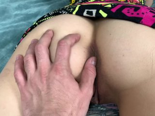 TEEN EVA WATCHING PORNHUB, AND TRIED ADAM'S HARD DICK IN HER WET PUSSY 4K