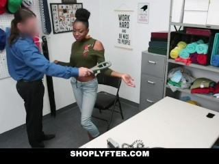 Black Thief Fucked By Security Guard