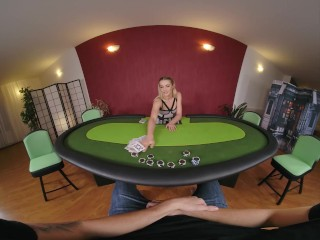 Lustful Dealer Cherry Kiss Seduces You In Private Poker Room