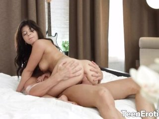 Naughty Massage Leads to Hot Anal with Teen Rebecca Rainbow