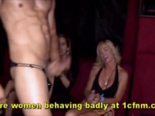 Cougar Cocksuckers At Bachelorette Party
