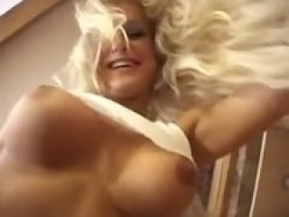 Blondie DP'd with sloppy seconds creampie