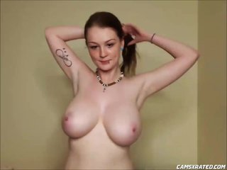 Redhead Teen With Huge Natural Tits