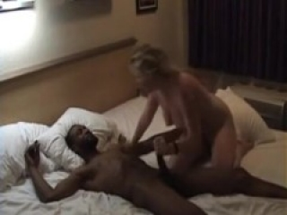 White Cuckold Slut Getting A DP By 2 BBC's While Hubby Films