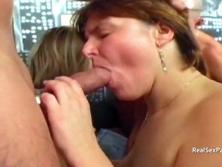Real swinging couples together for wife swapping