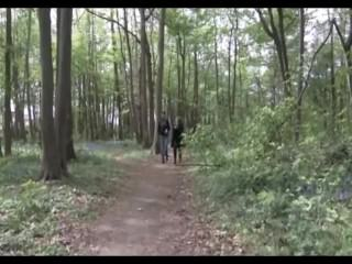 Fat mature mom picked up and fucked in the woods