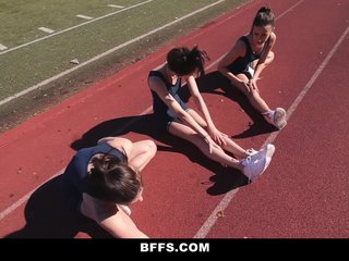 Track Girls Fuck Each Other After Practice