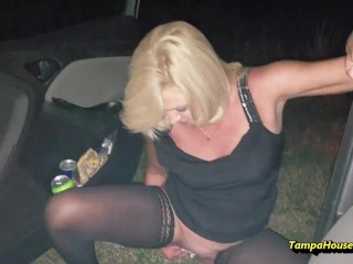 A Hot Blonde Housewife Will Pee Anywhere She Likes
