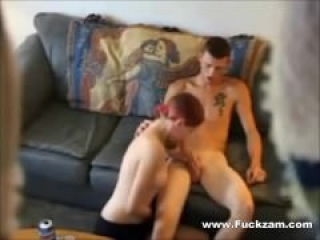 Teen Cock For Slutty Redhead In Horny Fuck