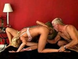 Tawny Roberts and Gina Lynn ride a lucky guy
