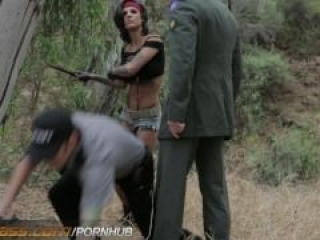HDVPass Bonnie Rotten Hardcore Outdoor Sex