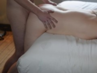 What the Cuckold Saw - Hubby in Shot Films Wife Bareback and Squirting