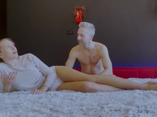 Tall Blonde Vixen Teen Stacy Cruz Takes A Big Dick In Homemade Casting